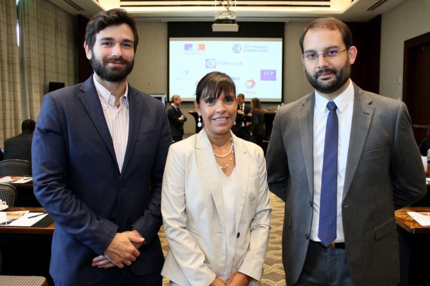 Iván Perezmella Irizarry, Ana Vidal de Moulins y Jean-Baptiste Dabezies