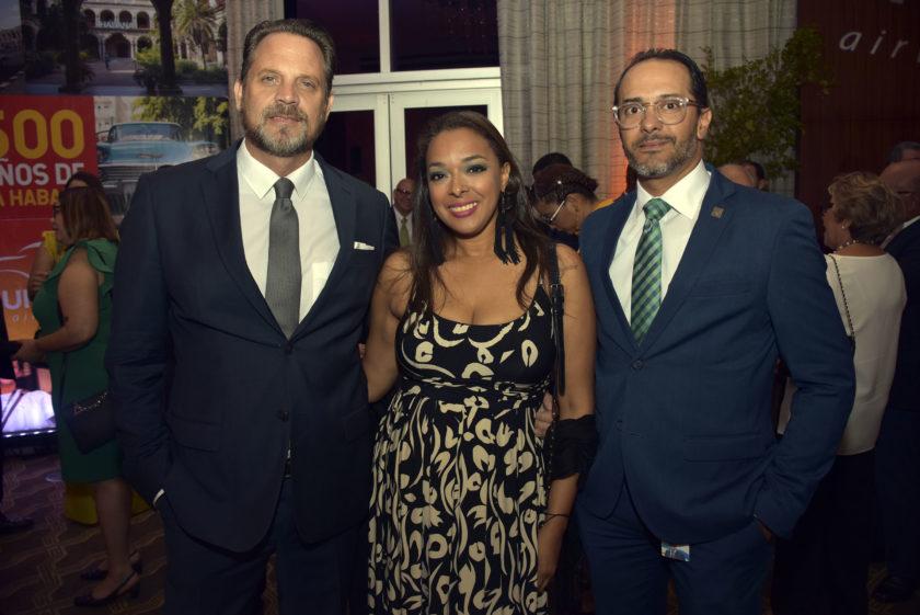 Nicolas Mellios, Wendy Montero y Miguel Fernandez