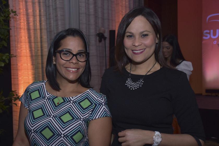 Elizabeth Alomnte y Ana Adames